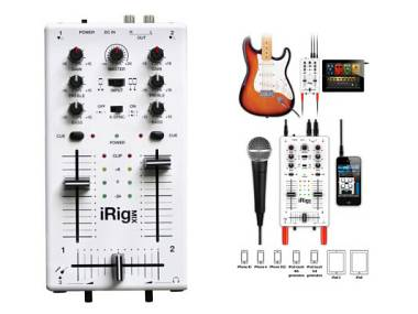 iRig MIX - Mobile mixer for iPhone/iPod touch/iPad